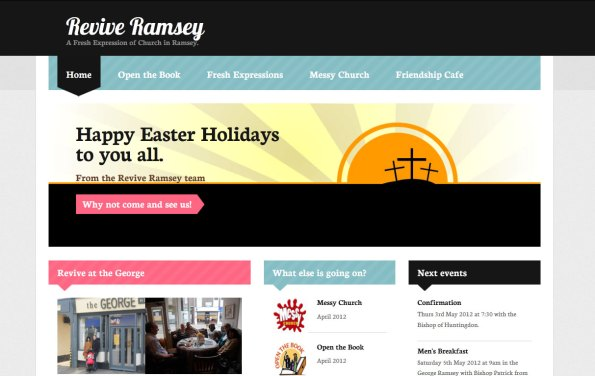 Revive Ramsey Website